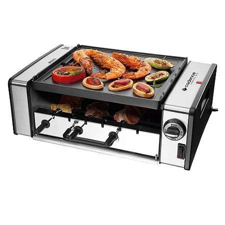 Churrasqueira Elétrica Cadence Automatic Grill GRL700 Inox - 127