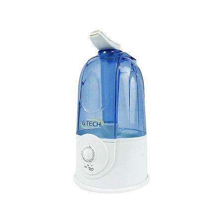 Umidificador de Ar Ultrassônico G-Tech Allergy Free Dual 3 Litros Branco e Azul - Bivolt