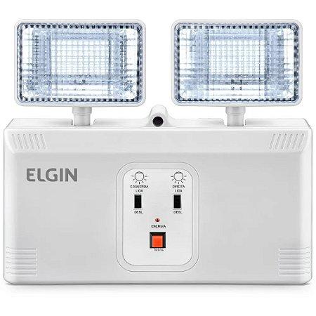 Luminária de Emergência Elgin Power Line Bloco Autônomo 8W