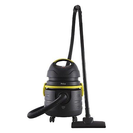 Aspirador de Água e Pó Philco PAS20 1000W Preto e Amarelo - 127V