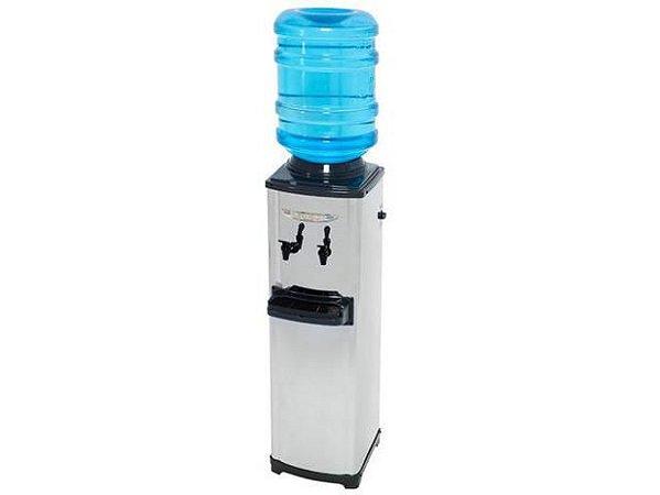 Bebedouro de Coluna com Compressor Master Até 20 Litros Inox - CGA - 220V - Libell