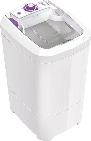 Lavadora Tanquinho Newmaq 12Kg com 9 Programas e Filtro de Fiapos Branca - 220V