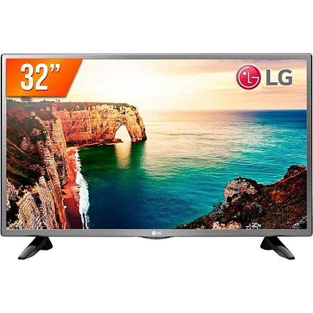 "TV Led LG 32"" LG 32LT330HBSB 2 HDMI 1 USB Pro Conversor Digital Modo Hotel - Preta"