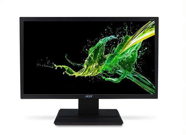Monitor Led Acer 19,5''  V206HQL HDMI VGA Preto