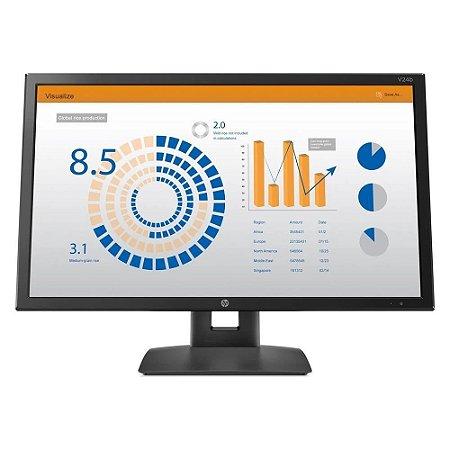 Monitor HP V24b 23.6 LED Full HD Widescreen Preto