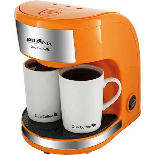 Cafeteira Elétrica Britânia Duo Coffee 450W Laranja - 220V