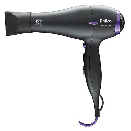 Secador de Cabelo Philco Beauty Style 1900W Preto - 220V
