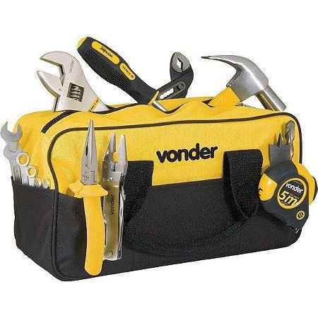 Bolsa em Lona para Ferramentas Vonder BL005 - Preta e Amarela