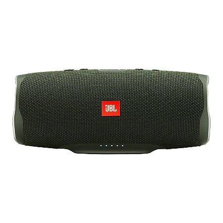 Caixa de Som Bluetooth JBL Charge 4 30W RMS À Prova D'água - Verde