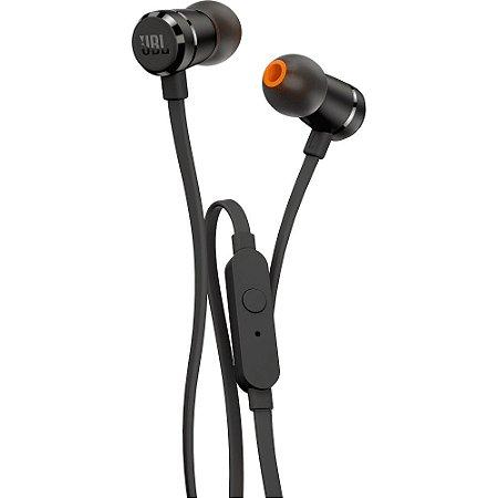 Fone de Ouvido Intra-Auricular com Microfone P3 Preto - T290 - JBL