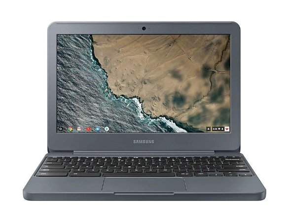"Chromebook 11,6"" LED HD Intel Celeron N3060 4GB RAM 32GB eMMC Chrome OS SD HDMI USB P2 Grafite - XE501C13-AD3BR - Samsung"