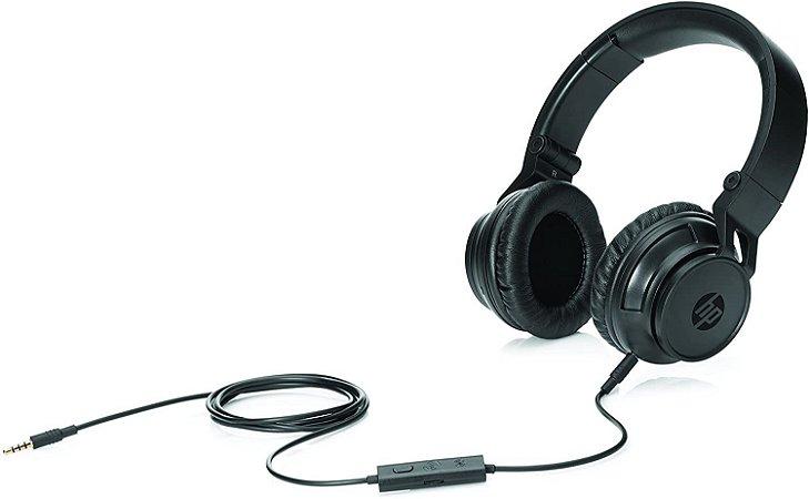 Fone de Ouvido Headphone HP H3100 Preto