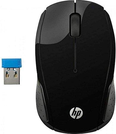 Mouse HP sem Fio X200 OMAN 1000DPI Preto