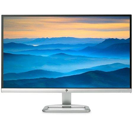 "Monitor HP 27"" Full HD VGA HDMI 27ER Prata"