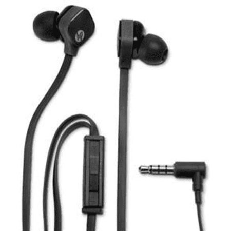 Fone de Ouvido Intra-Auricular HP com Microfone H2310 Preto