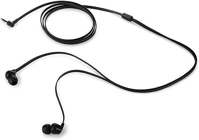 Fone de Ouvido Intra-auricular HP H100 Preto
