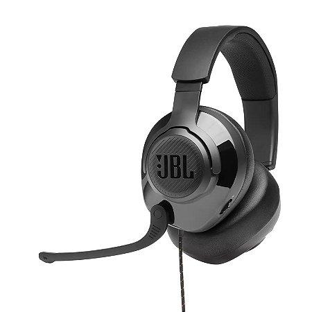 Headset Gamer Com Fio e Microfone Móvel P3 Preto - Quantum 200 28913167-JBL - JBL
