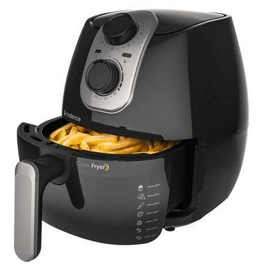 Fritadeira Sem Óleo Cadence Cook Fryer 2,6 Litros Preto - 220V