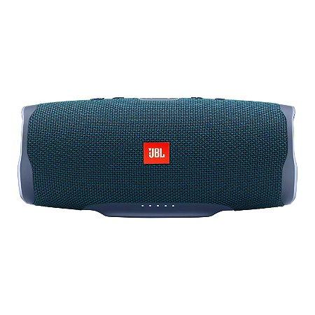 Caixa de Som Bluetooth JBL Charge 4 30W RMS À Prova D'água - Azul