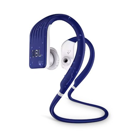 Fone de Ouvido Esportivo JBL Endurance Jump À Prova D'água Bluetooth Azul