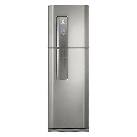 Geladeira Electrolux Frost Free Top Freezer Duplex 402 Litros DF44S Inox - 127V