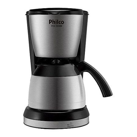 Cafeteira Elétrica Philco Thermo 30 Xícaras 700W PH30 Preto/Prata - 220V