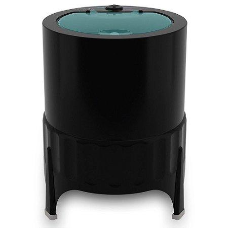 Lavadora Tanquinho Mueller 4.5kg Semiautomática Pluscom 3 Programas Preta - 127V