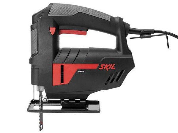Serra Tico Tico Skil 4400 400W Preto e Vermelho - 127V