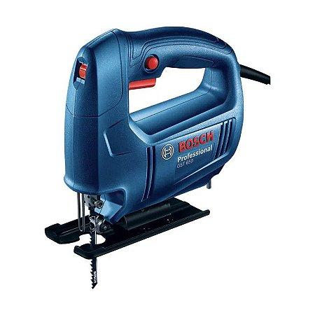 Serra Tico-Tico Bosch GST 650 450W Azul - 127V