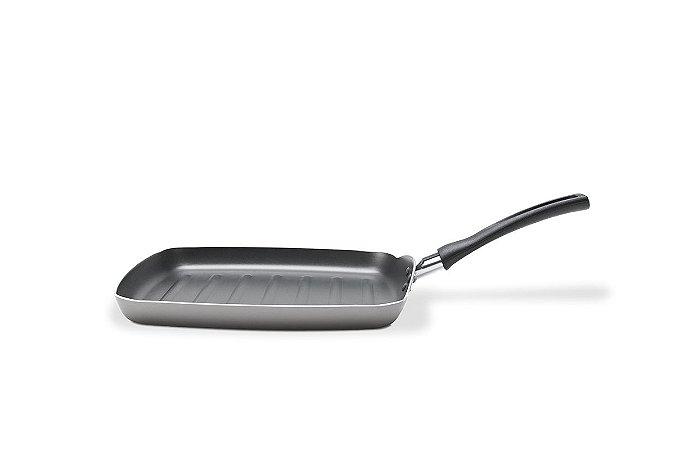 Grill Brinox Chilli 24x24x2,3cm 0,75 Litros - Prata