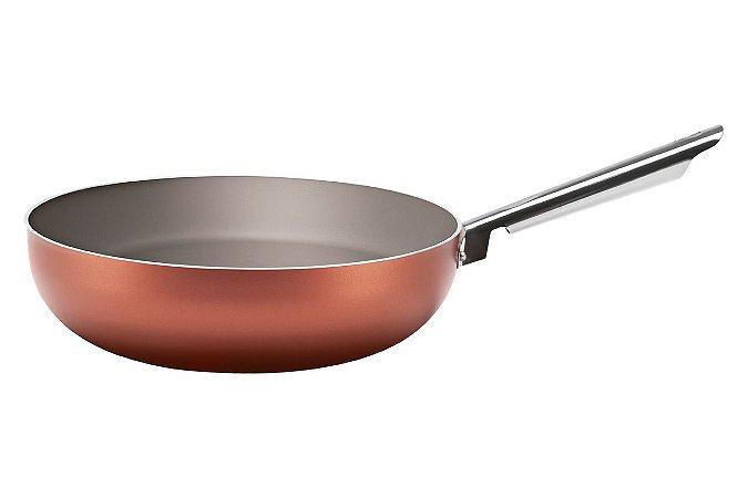 Wok Brinox Curry 28x8cm 3,55 Litros - Cobre