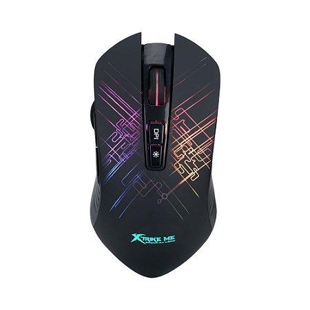 Mouse Gamer Xtrike-Me GM-510 Usb 6400 Dpi - Preto