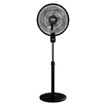 Ventilador de Coluna Wap 50cm Rajada Turbo W130 5 Pás e 3 Velocidades - Preto