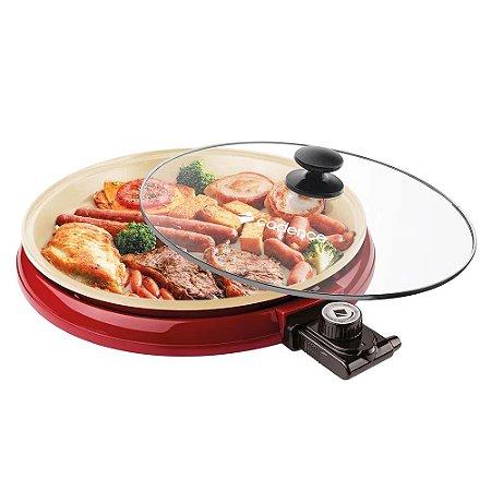 Multi Grill Redondo Cadence Ceramic Pac - Vermelho