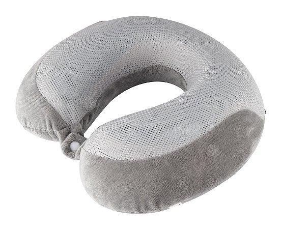 Travesseiro de Pescoço RelaxMedic Gel Dr. Coluna- Cinza