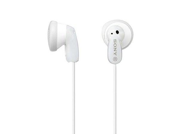 Fone de Ouvido Intra-Auricular Sony MDR-E9LP - Branco