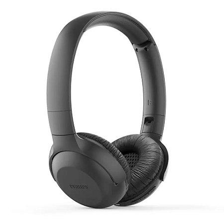 Fone de Ouvido Headphone Bluetooth Philips com Microfone TAUH202BK/00 - Preto