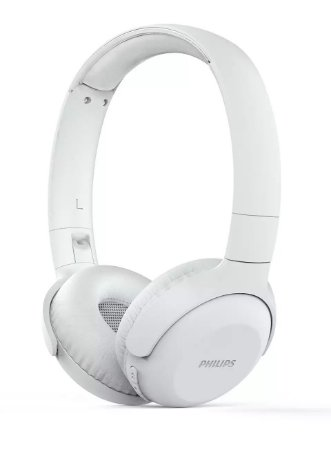 Fone de Ouvido Headphone Bluetooth Philips com Microfone TAUH202WT/00 - Branco