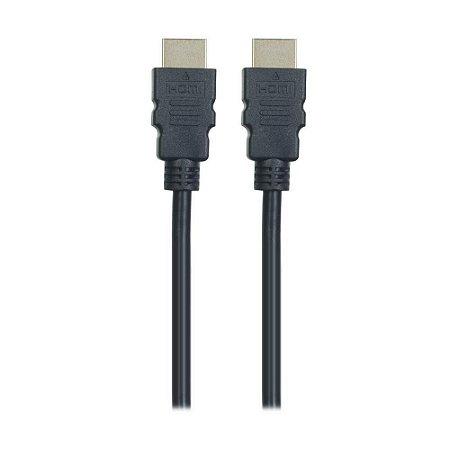 Cabo HDMI Kross Elegance 19 Pinos 1,8m KE-CH430 - Preto