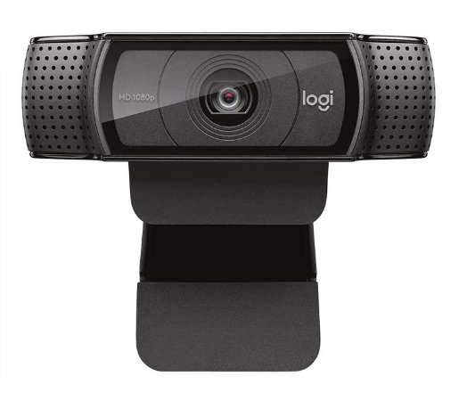 Webcam Logitech C920 Full HD 1080P - Preta