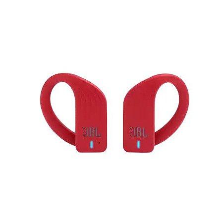 Fone de Ouvido sem Fio Intra-Auricular Esportivo À Prova D'Água Bluetooth Vermelho - Endurance Peak - JBL