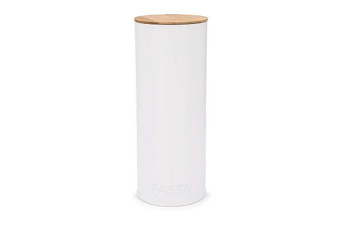 Pote Redondo para Massas Haus Concepet Canister 11,2x26,8cm - Branco