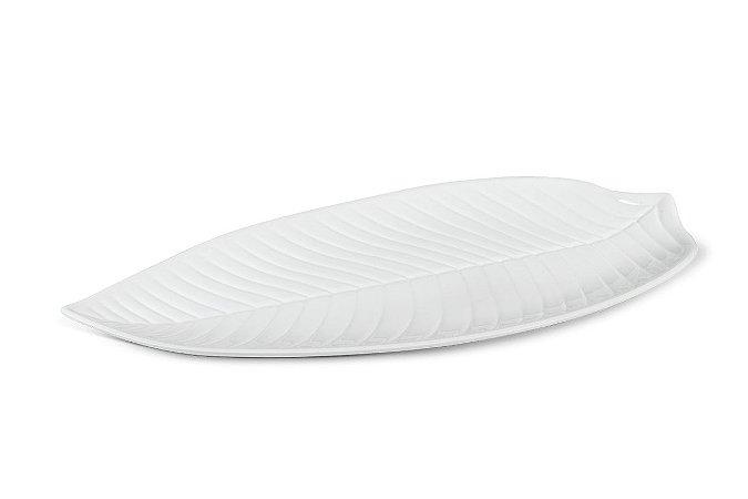 Travessa Longa Haus Concept Plant 45x24,2x3,6 cm - Branco
