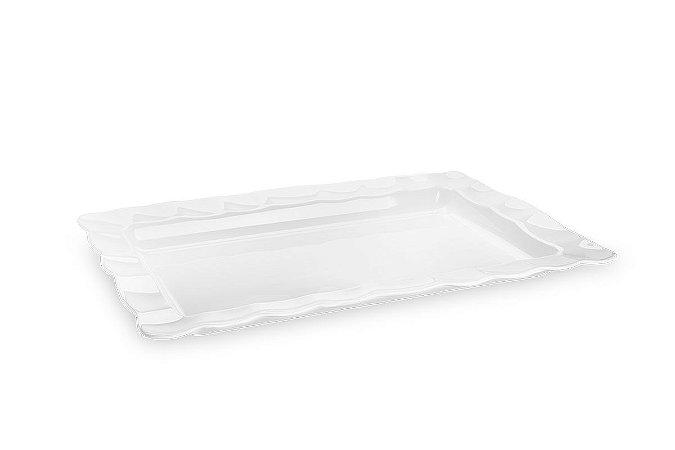 Travessa Retangular Haus Concept Wave 57x37x5cm - Branco