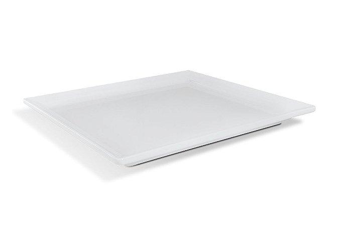 Travessa Retangular Haus Concept Gastronorm 35,4x32,5x3 cm - Branco