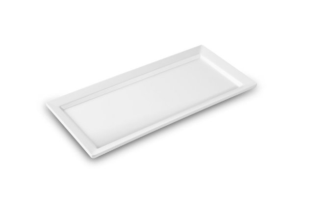 Travessa Retangular Haus Concept Catering 44x21,3x3 cm - Branco