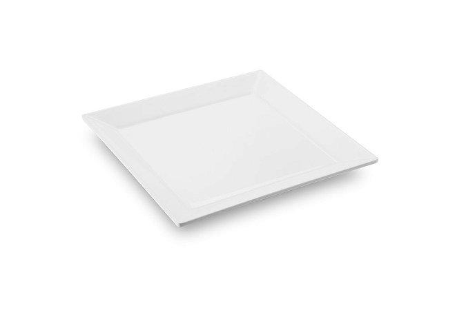 Travessa Quadrada Haus Concept Quadro 31,5x31,5x3,2cm - Branco