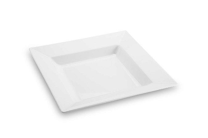 Travessa Quadrada Haus Concept Quadro 41,3x41,3x6,8cm - Branco