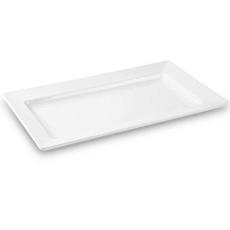 Travessa Retangular Haus Concept Quadro 56,5x32,5x5,8 cm - Branco