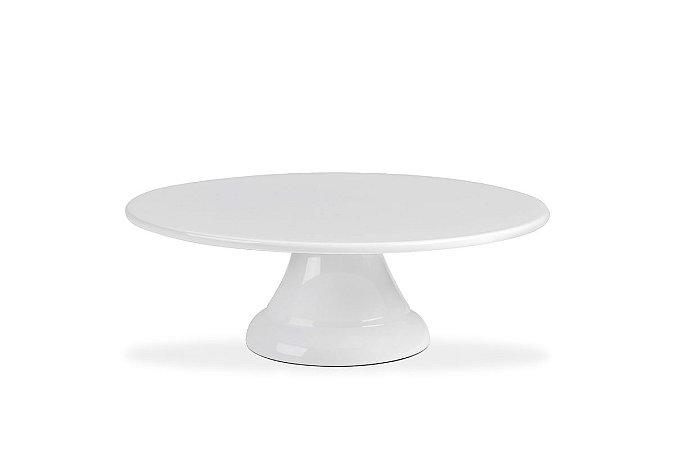 Boleira sem Borda Haus Concept Buffet 25X8,2cm - Branco
